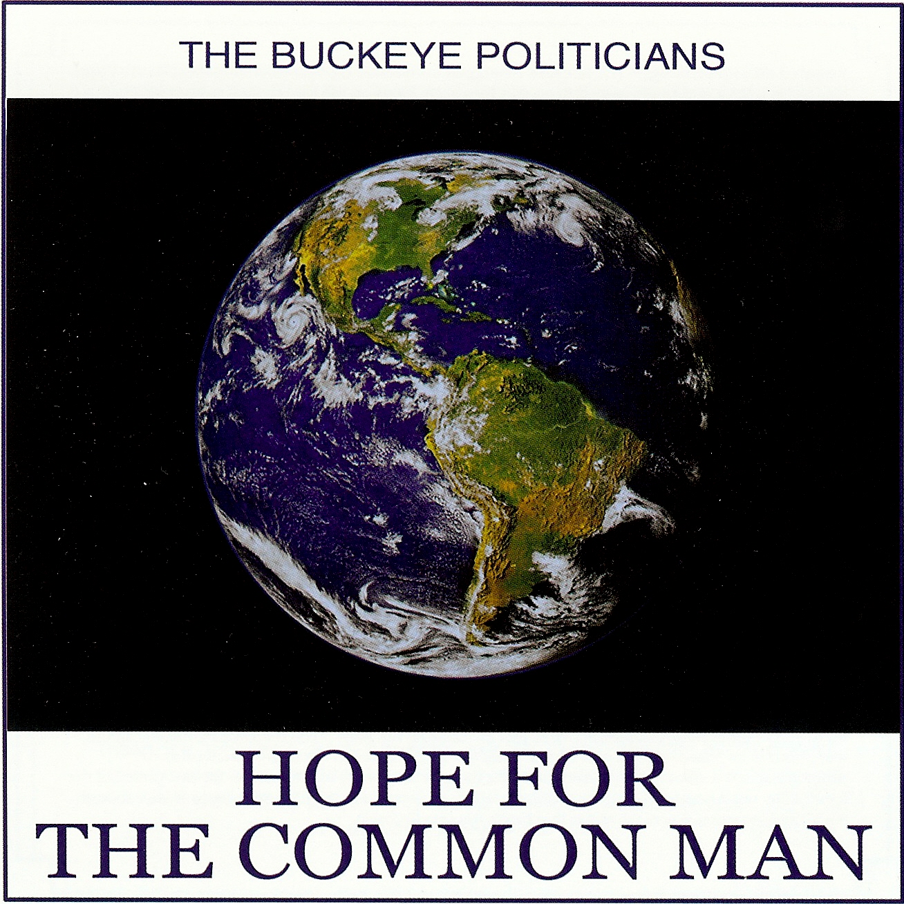 "Album cover for ""Hope For The Common Man"""